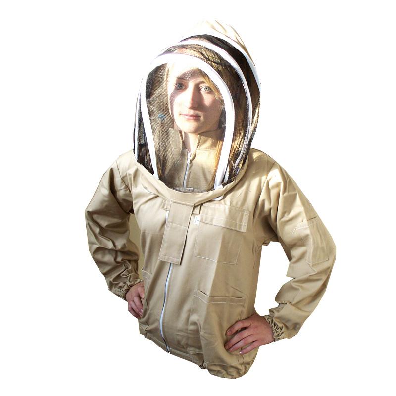 ce563f99a5f7 Včelárská blúza s kuklou